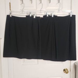 Bundle of 3 Black J.Jill Skirts, M